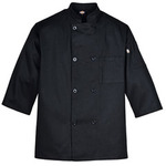 Long-Sleeve 8-Button Chef Coat