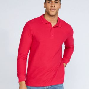 Gildan Premium Cotton L/Sleeve Polo Miniaturansicht