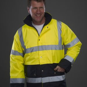 Hi-Vis 2 Band Two Tone Jacket Miniaturansicht