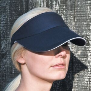 Herringbone Sun Visor With Sandwich Peak Miniaturansicht