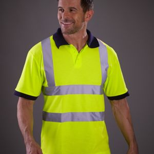 Hi-Vis Short Sleeve Polo Shirt Miniaturansicht