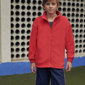Childrens Full Zip Outdoor Fleece Miniaturansicht