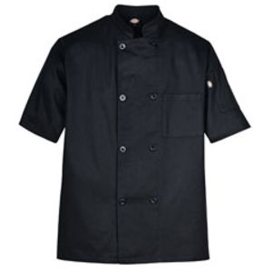 Short-Sleeve 8-Button Chef Coat Miniaturansicht