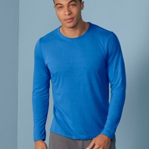 Adult Performance Long Sleeve Tee, Funktionsstoff, von GILDAN Miniaturansicht